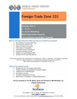 What is a Foreign-Trade Zone (FTZ) and how can it benefit my